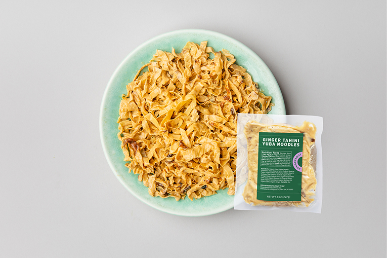 Ginger Tahini Yuba Noodles, a product in the Proteins category