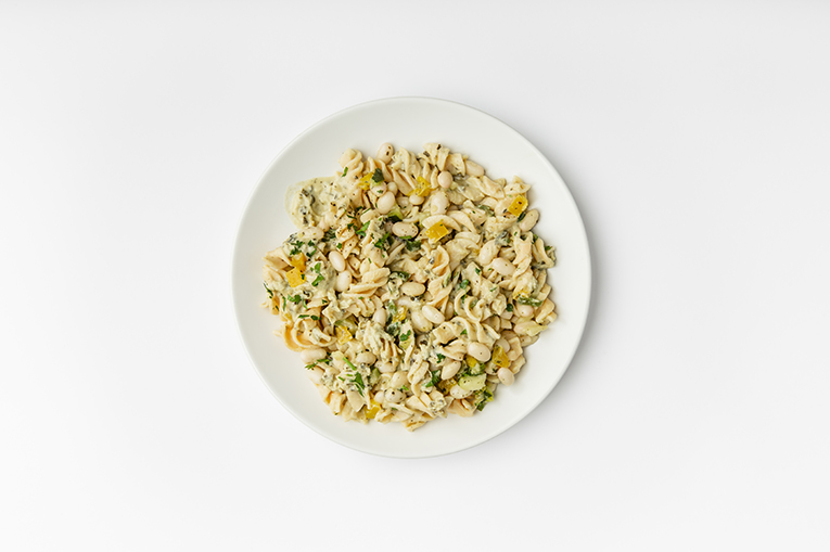Spinach Artichoke Protein Pasta - A recipe created using more than one product