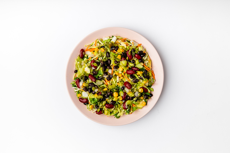 Avocado Bean Southwestern Salad - A recipe created using more than one product