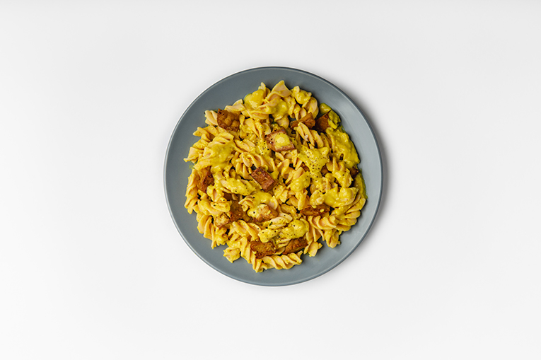 Tofu Coconut Curry Pasta - A recipe created using more than one product
