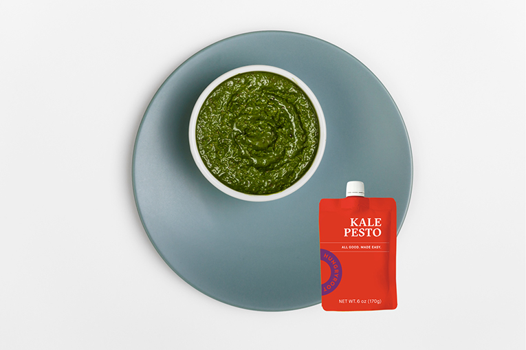 Kale Pesto, a product in the Sauces + Dressings category