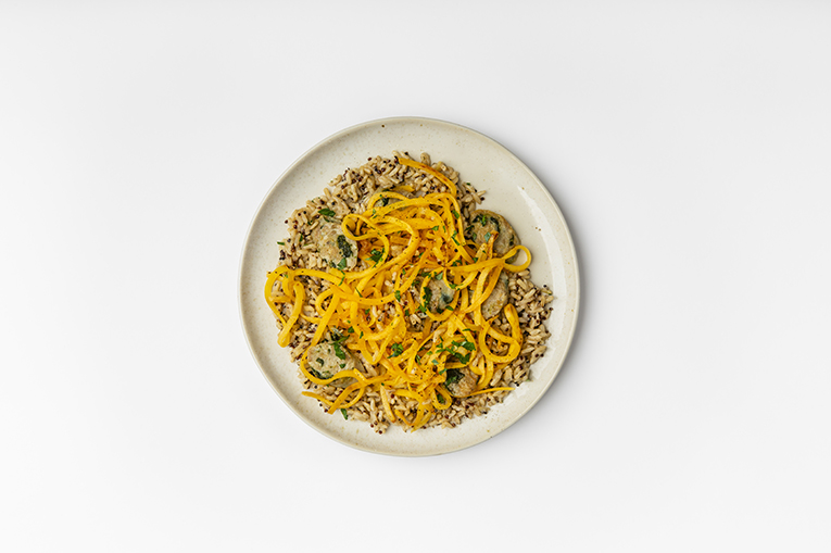 Chicken Sausage Butternut Grains - A recipe created using more than one product
