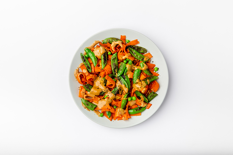 Sweet Potato Pad Thai - A recipe created using more than one product