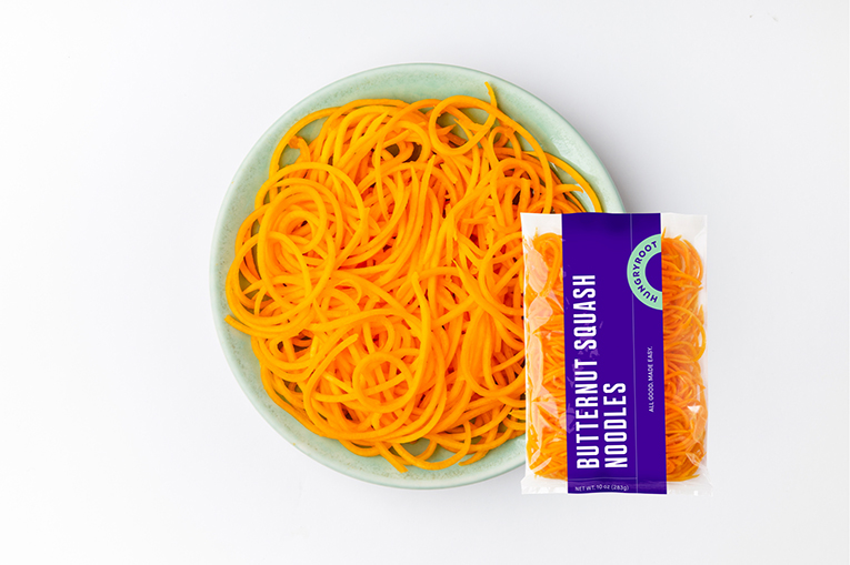 Butternut Squash Noodles, a product in the Fresh-Cut Vegetables category