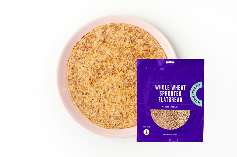 Whole Wheat Sprouted Flatbread, a product in the Grains & Pastas category