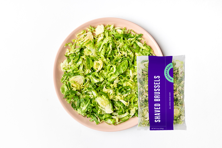 Shaved Brussels, a product in the Fresh-Cut Vegetables category