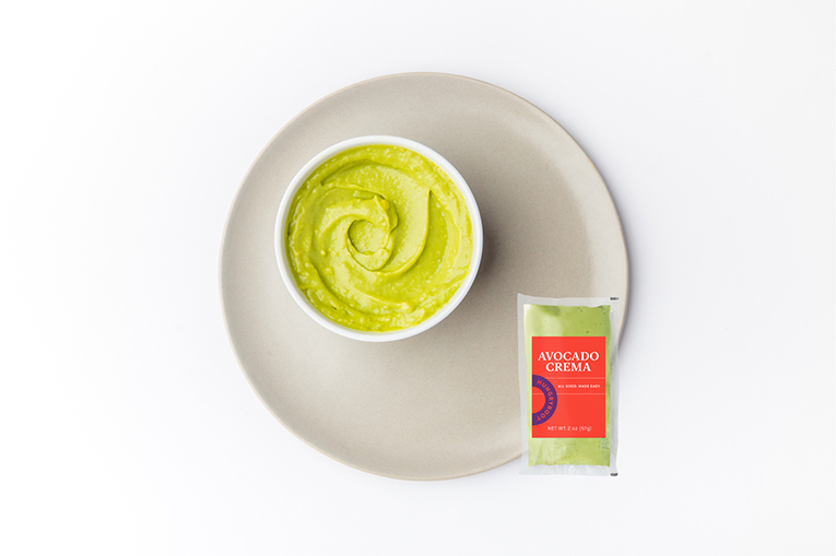Avocado Crema, a product in the Sauces category