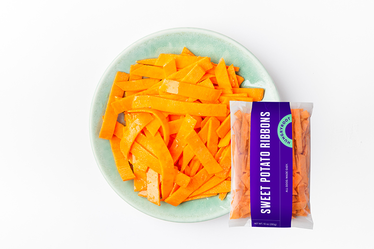 Sweet Potato Ribbons, a product in the Fresh-Cut Vegetables category